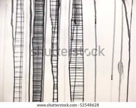 abstract illustrated background| hand made | watercolor | self made - stock photo