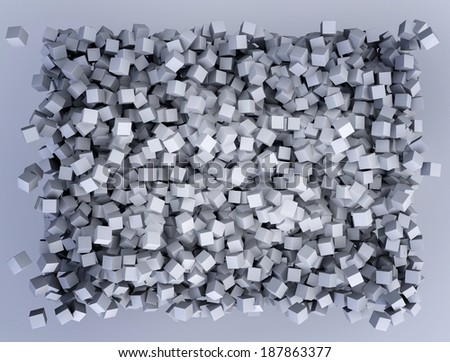 abstract image of cubes background  - stock photo