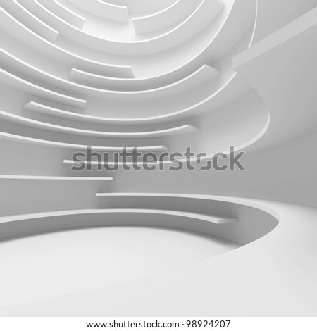 Abstract Interior Background - stock photo