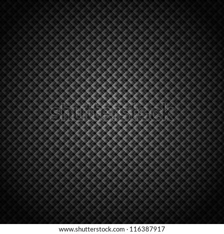 Abstract kaleidoscope black and white background - stock photo