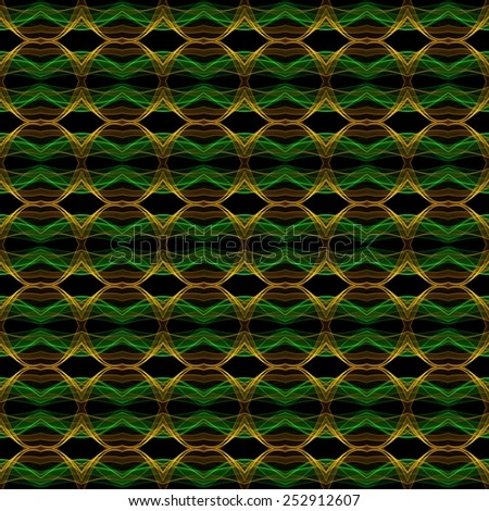 Abstract kaleidoscopic background as infinite seamless pattern  - stock photo