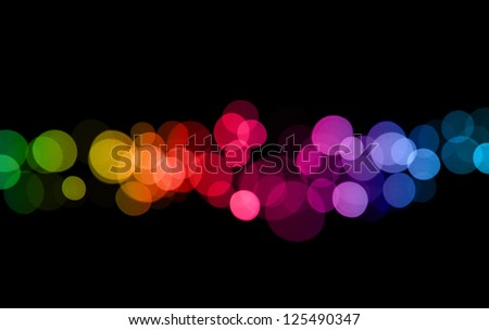 abstract light - stock photo