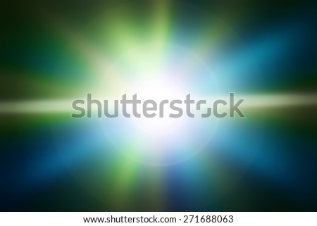 Abstract light blue and yellow background - stock photo