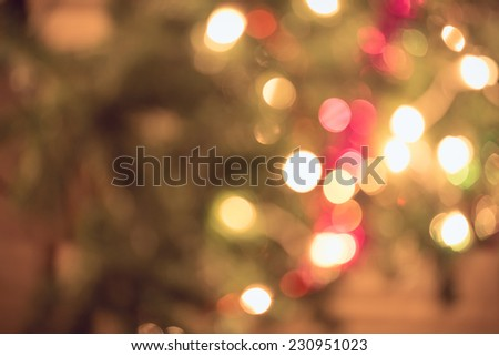 abstract light celebration background with defocused lights - stock photo