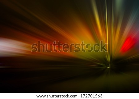 Abstract light in the motion - stock photo