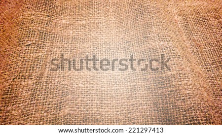 Abstract light natural linen texture for the background - stock photo