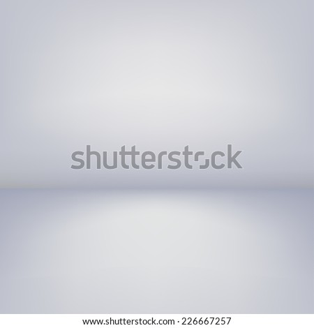 Abstract light studio background - stock photo