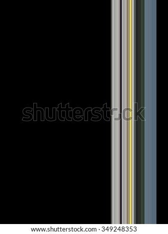 Abstract lines background with hard colors - copy space   - stock photo