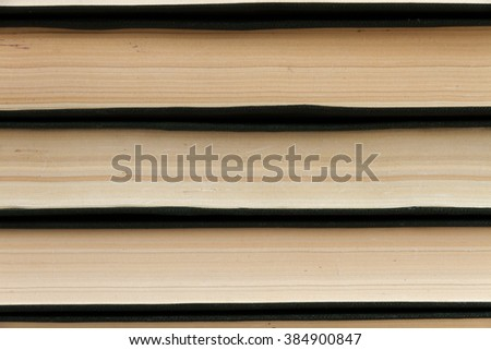 Abstract lines. Stack of books - stock photo
