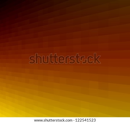 abstract luminous orange-red background with diagonal pattern - stock photo