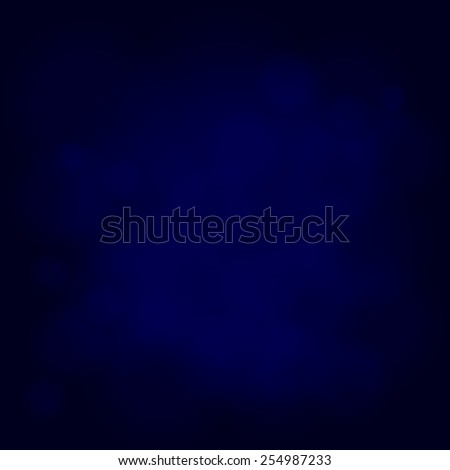 abstract magic light sky bubble blur blue background - stock photo