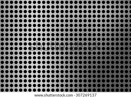 Abstract metal background. - stock photo