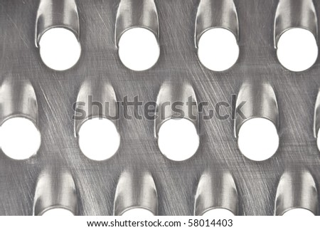Abstract metallic surface background - stock photo