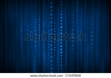 Abstract minimal code background - stock photo