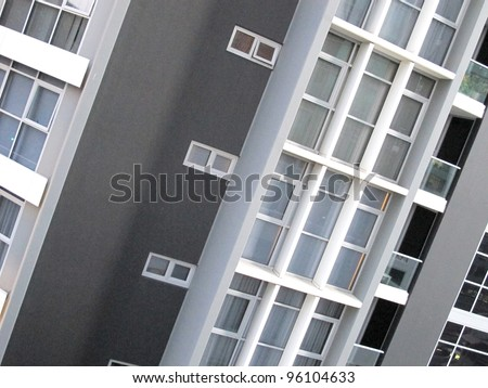 Abstract Modern Building 2 - stock photo