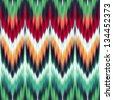 abstract modern ethnic seamless fabric pattern - stock photo