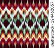 abstract modern ethnic seamless fashion fabric pattern - stock photo