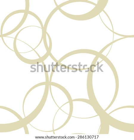 abstract monochrome seamless wallpaper with circles - stock photo