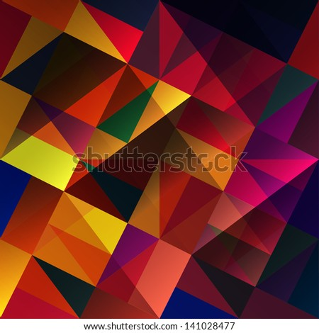 Abstract multi-colored background. Raster version, vector file available in my portfolio. - stock photo