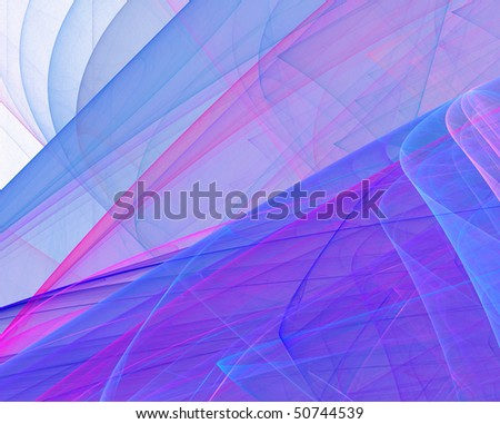 Abstract multicolor silk - stock photo