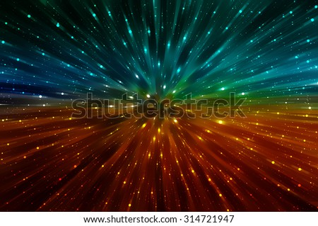 abstract multicolored background. explosion star. - stock photo