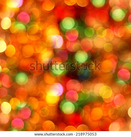 Abstract multicolored background with blur bokeh for design  - stock photo