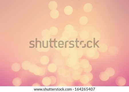 Abstract natural blur defocussed background. retro style in golden and pink tonned color - stock photo