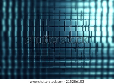 Abstract of cubes background - stock photo