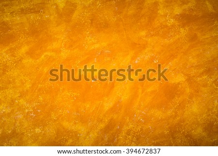 Abstract of Orange concrete wall Texture background. cement paint color orange background. - stock photo