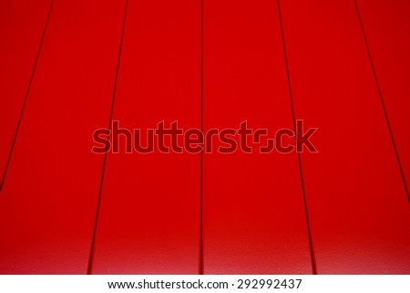 abstract of red wood lath for background used - stock photo