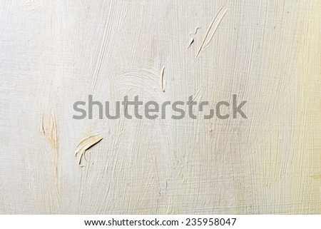Abstract oil painted texture on canvas - stock photo