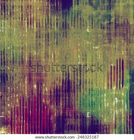 Abstract old background or faded grunge texture. With different color patterns: blue; brown; green; purple (violet) - stock photo