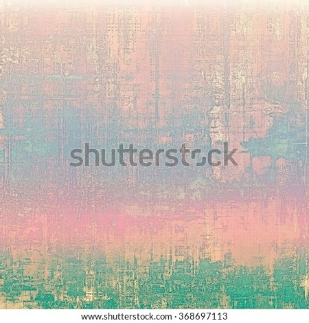 Abstract old background or faded grunge texture. With different color patterns: blue; green; cyan; purple (violet); pink - stock photo