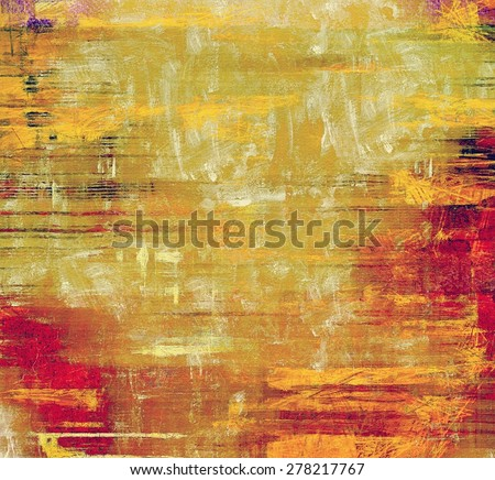 Abstract old background or faded grunge texture. With different color patterns: yellow (beige); brown; red (orange); pink - stock photo
