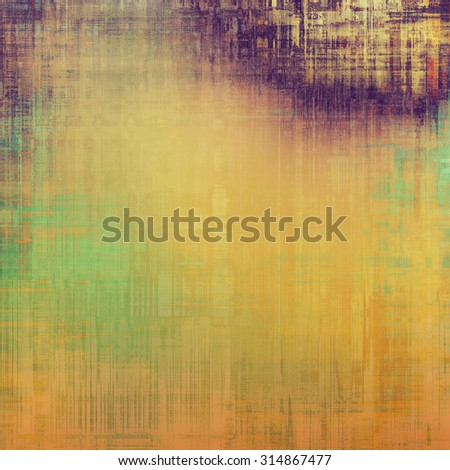 Abstract old background or faded grunge texture. With different color patterns: yellow (beige); brown; purple (violet); green - stock photo