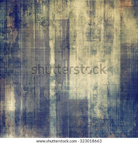 Abstract old background with grunge texture yellow (beige); brown; blue; gray - stock photo