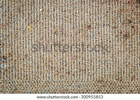 abstract old dirty fabric carpet rustic texture background - stock photo