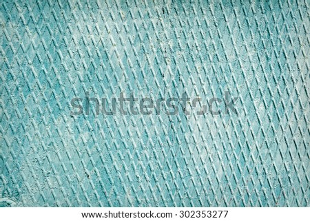 Abstract old green rusty metal background - stock photo