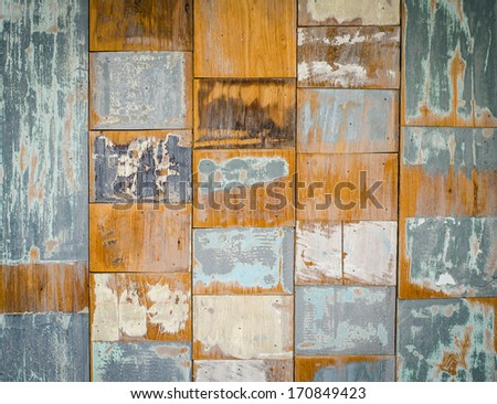 Abstract old wood texture background - stock photo