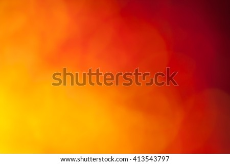 Abstract orange and red background - stock photo