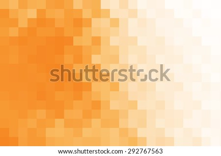 Abstract orange and white background. - stock photo
