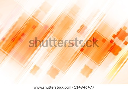abstract orange background - stock photo