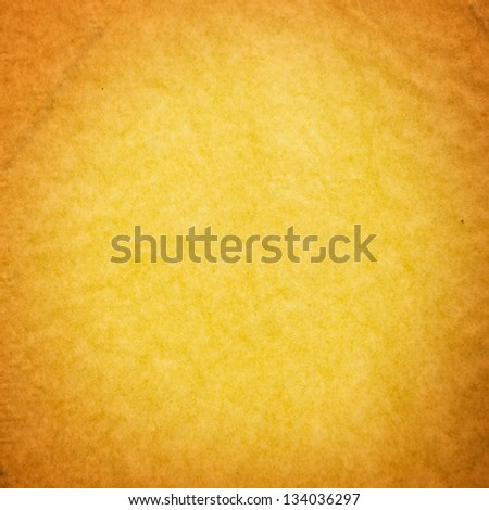 Abstract orange background apricot color, elegant warm background of vintage grunge background texture yellow center, pastel beige paper orange border for halloween autumn background design - stock photo