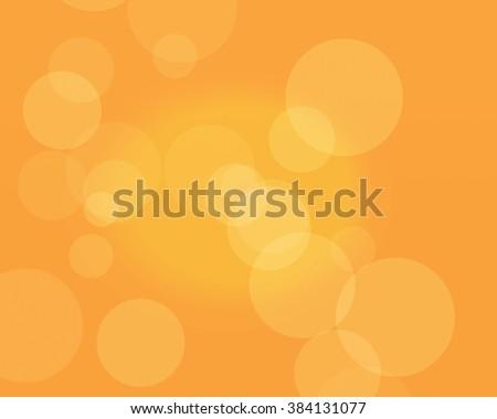 abstract Orange bokeh background. Colorful Romantic Passionate Joyful Joy Freedom Liberated Creative Warm Ambitious Energetic Carrot Papaya Romance Love Friendship Women Actually Rest Hope Peace - stock photo