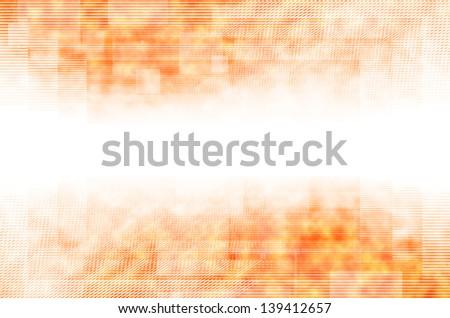 Abstract orange line background. - stock photo