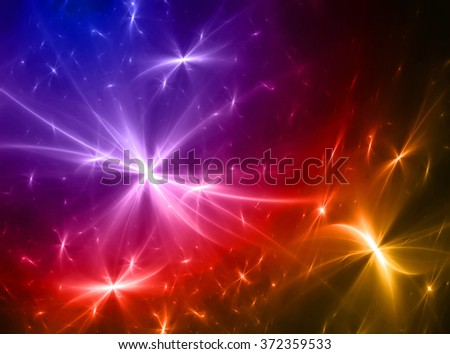 abstract outer space Galaxy background - stock photo