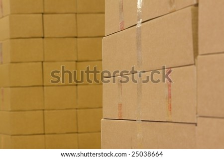 abstract package group - stock photo