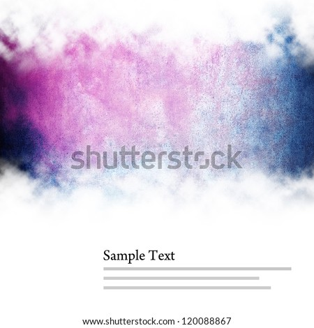 abstract paint with copy space - stock photo