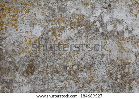Abstract painted grey wall texture - stock photo