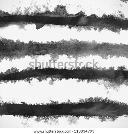 Abstract painted grunge background, ink texture. Rough paper texture. - stock photo